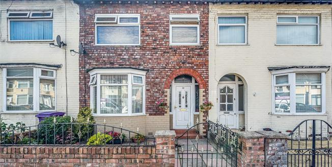 Offers in excess of £120,000, 3 Bedroom Terraced House For Sale in Liverpool, L13