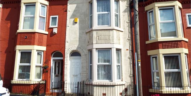 Offers Over £98,950, 3 Bedroom Terraced House For Sale in Liverpool, L7