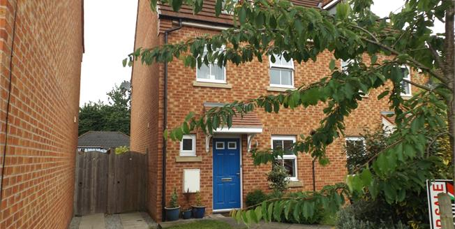 Offers in the region of £157,000, 3 Bedroom Semi Detached House For Sale in Leyland, PR26