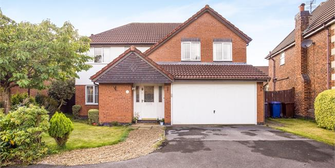 Offers in the region of £270,000, 4 Bedroom Detached House For Sale in Leyland, PR26