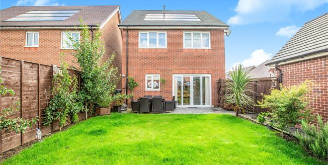 £270,000, 4 Bedroom Detached House For Sale in Buckshaw Village, PR7