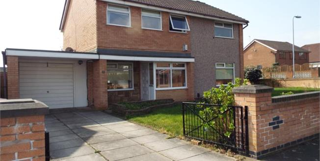 £190,000, 4 Bedroom Detached House For Sale in Liverpool, L32
