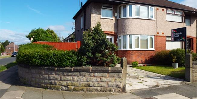 Offers in excess of £160,000, 3 Bedroom Semi Detached House For Sale in Aintree, L10