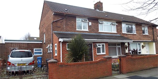 Offers Over £110,000, 3 Bedroom Semi Detached House For Sale in Liverpool, L33