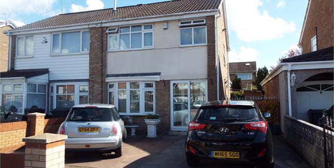 Offers Over £135,000, 3 Bedroom Semi Detached House For Sale in Liverpool, L32