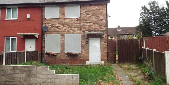 Asking Price £46,500, 3 Bedroom End of Terrace House For Sale in Prescot, L35