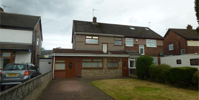 Asking Price £180,000, 3 Bedroom Semi Detached House For Sale in Liverpool, L31