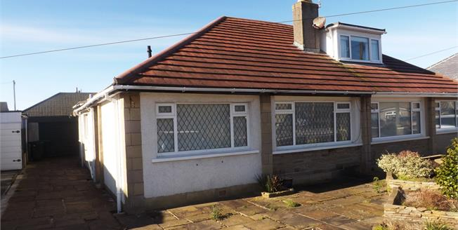 Asking Price £165,000, 2 Bedroom Semi Detached Bungalow For Sale in Morecambe, LA4
