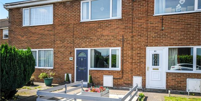 Offers Over £110,000, 2 Bedroom Terraced House For Sale in Morecambe, LA4