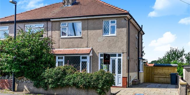 Asking Price £150,000, 3 Bedroom Semi Detached House For Sale in Morecambe, LA4
