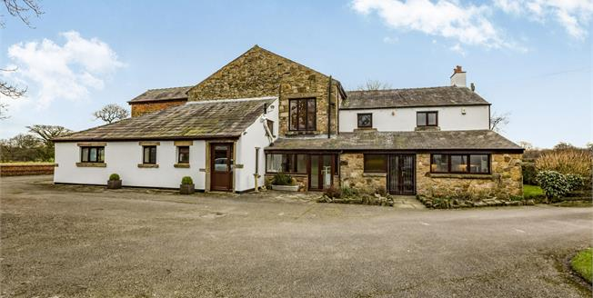 Offers Over £600,000, 5 Bedroom Detached House For Sale in Samlesbury, PR5