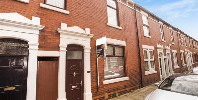 Offers Over £90,000, 3 Bedroom Terraced House For Sale in Preston, PR1