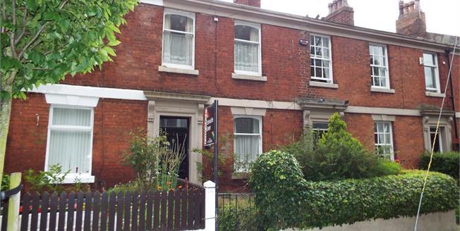 Asking Price £95,000, 2 Bedroom Terraced House For Sale in Preston, PR1
