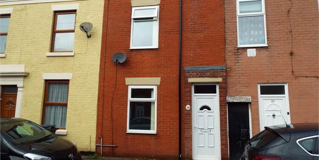 £65,000, 2 Bedroom Terraced House For Sale in Preston, PR1