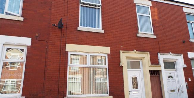 Offers Over £80,000, 2 Bedroom Terraced House For Sale in Lancashire, PR1