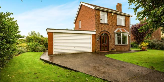 Offers in the region of £299,950, 3 Bedroom Detached House For Sale in Much Hoole, PR4