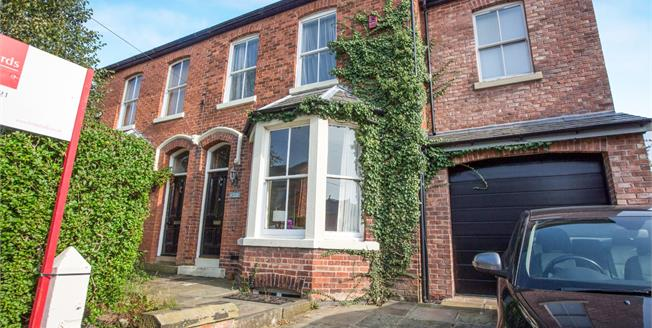 Offers in the region of £265,000, 4 Bedroom Semi Detached House For Sale in Ashton-on-Ribble, PR2