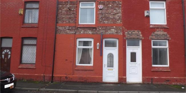 Offers Over £54,950, 2 Bedroom Terraced House For Sale in St. Helens, WA10