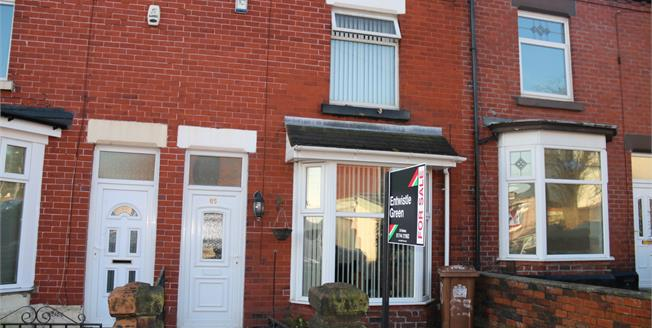 £105,000, 3 Bedroom Terraced House For Sale in St. Helens, WA10