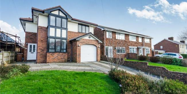Offers in the region of £225,000, 4 Bedroom Detached House For Sale in Rainford, WA11