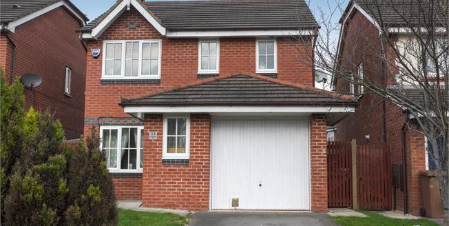 Offers Over £175,000, 3 Bedroom Detached House For Sale in St. Helens, WA9
