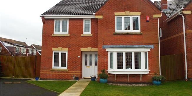 Offers in excess of £290,000, 4 Bedroom Detached House For Sale in St. Helens, WA9