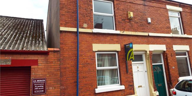 Asking Price £69,950, 2 Bedroom Terraced House For Sale in St. Helens, WA10
