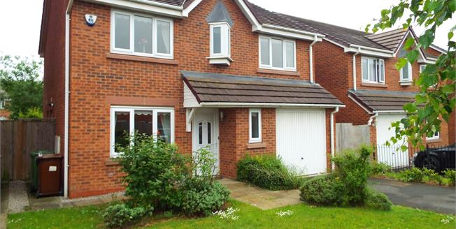 Offers Over £210,000, 4 Bedroom Detached House For Sale in St. Helens, WA9