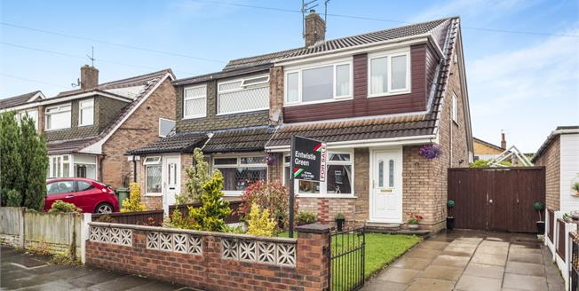 Asking Price £130,000, 3 Bedroom Semi Detached House For Sale in St. Helens, WA9