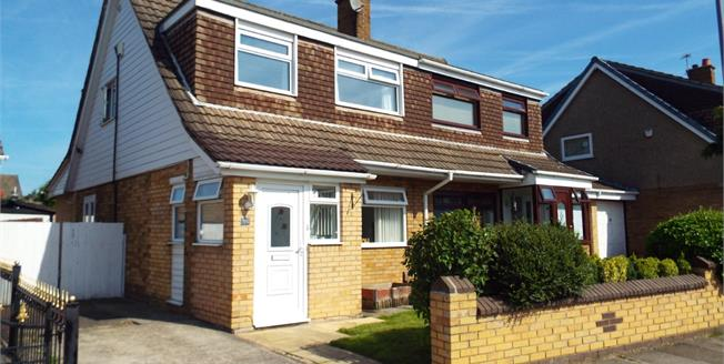 Offers Over £120,000, 3 Bedroom Semi Detached House For Sale in Clock Face, WA9
