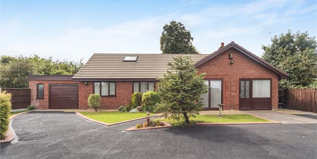 Offers in the region of £300,000, 4 Bedroom Detached Bungalow For Sale in Rainhill, L35