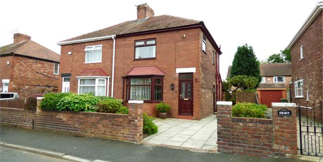 £135,000, 3 Bedroom Semi Detached House For Sale in Thatto Heath, WA9