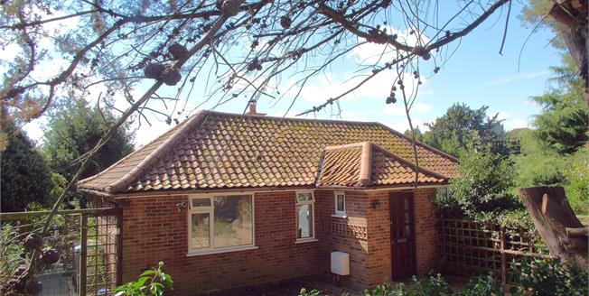 Guide Price £375,000, 3 Bedroom Detached Bungalow For Sale in Taverham, NR8