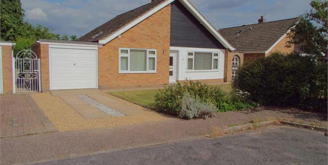 Asking Price £264,950, 3 Bedroom Detached Bungalow For Sale in Taverham, NR8