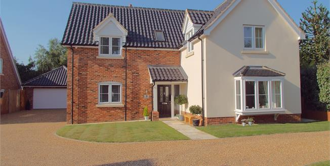 Offers in excess of £525,000, 5 Bedroom Detached House For Sale in Horsford, NR10