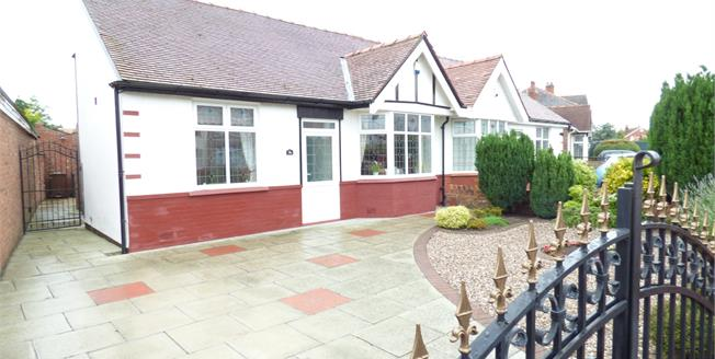 Asking Price £195,000, 2 Bedroom Semi Detached Bungalow For Sale in Southport, PR9