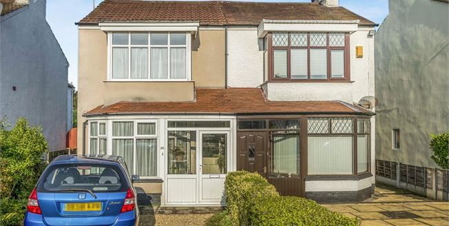 Offers in the region of £190,000, 3 Bedroom Semi Detached House For Sale in Southport, PR8