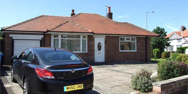 £160,000, 2 Bedroom Detached Bungalow For Sale in St. Annes, FY8