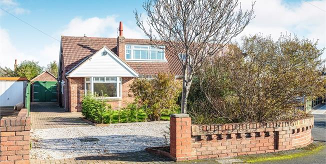 Asking Price £219,950, 4 Bedroom Semi Detached Bungalow For Sale in Lytham St. Annes, FY8