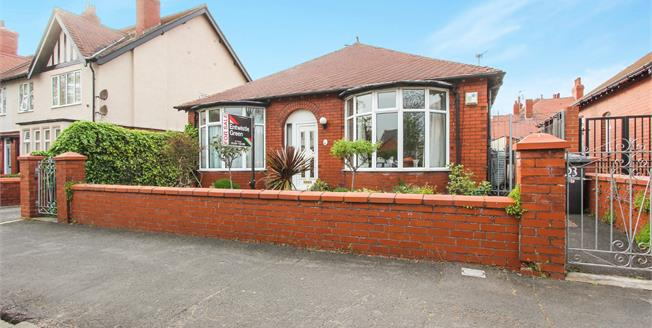 Asking Price £195,000, 3 Bedroom Detached Bungalow For Sale in Lytham St. Annes, FY8