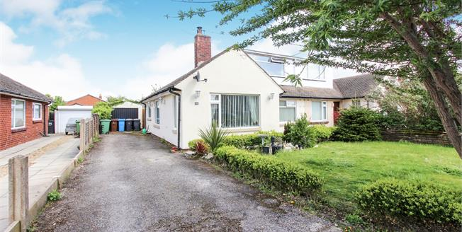 Asking Price £210,000, 4 Bedroom Semi Detached Bungalow For Sale in Lytham St. Annes, FY8