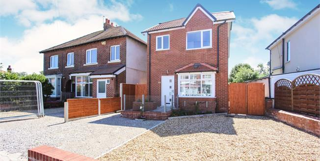 Asking Price £210,000, 3 Bedroom Detached House For Sale in Lancashire, FY8
