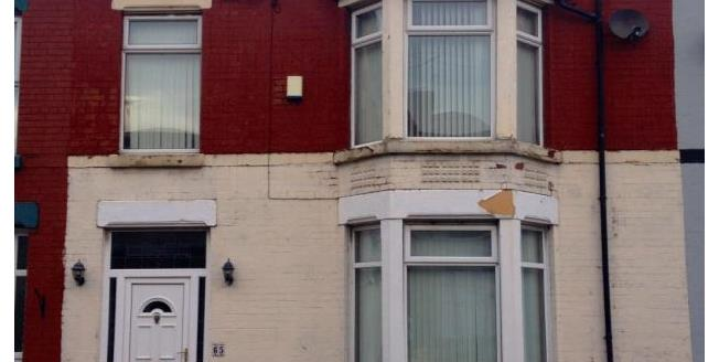 Offers Over £70,000, 4 Bedroom Terraced House For Sale in Liverpool, L9
