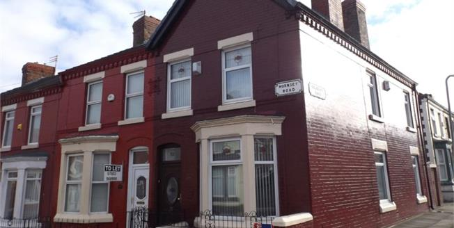 Offers Over £65,000, 3 Bedroom End of Terrace House For Sale in Liverpool, L4