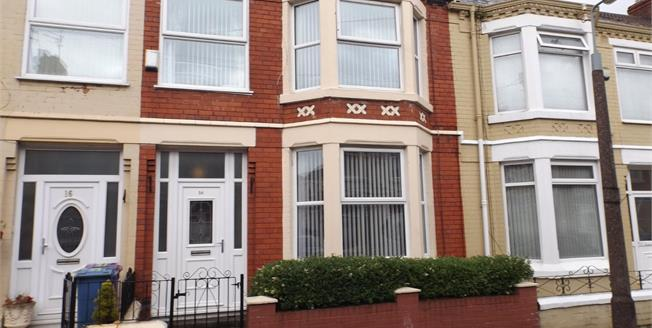 Asking Price £105,000, 3 Bedroom Terraced House For Sale in Liverpool, L9