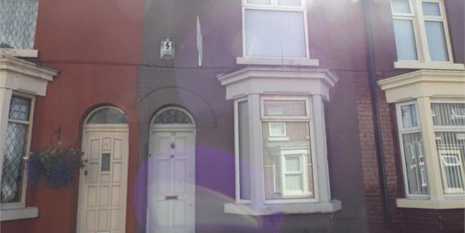 £48,000, 3 Bedroom Terraced House For Sale in Liverpool, L4