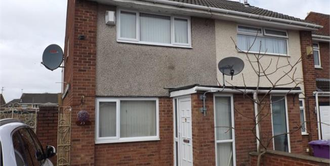 Asking Price £85,000, 2 Bedroom Semi Detached House For Sale in Liverpool, L9