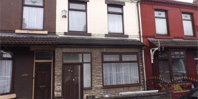 £85,000, 3 Bedroom Terraced House For Sale in Liverpool, L9