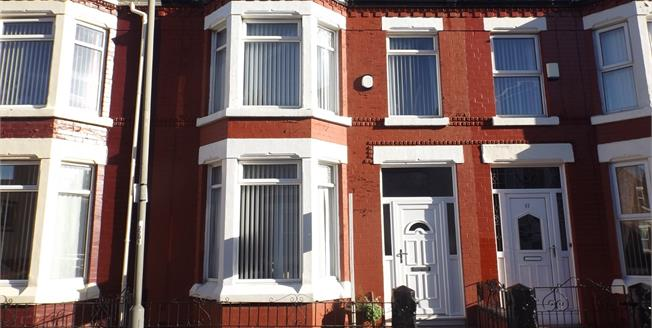 Offers Over £100,000, 3 Bedroom Terraced House For Sale in Merseyside, L9