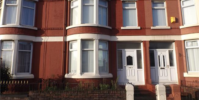 £90,000, 4 Bedroom Terraced House For Sale in Liverpool, L4